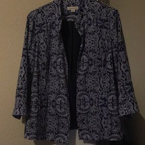 Cold water creek dress jacket size 18